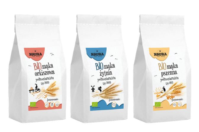 Pełnoziarniste BIO mąki – nowość